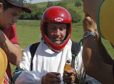 La policía brasileña confirma la muerte del 'sacerdote volador'