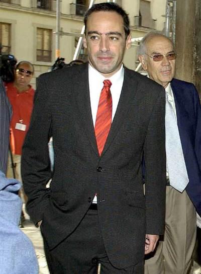 Fotografía de archivo fechada el 6 de septiembre de 2007 en Granada del juez Francisco Javier De Urquía.- EFE
