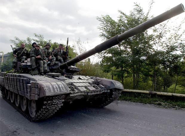 Las tropas georgianas se retiran