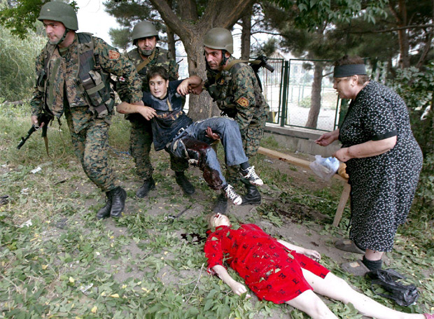 El polvorín de Osetia del Sur - Tragedia