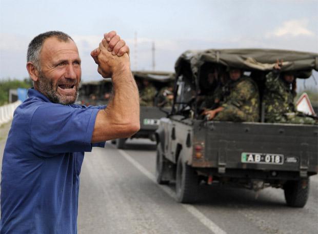 Georgia ataca Osetia del Sur - Ofensiva con tanques