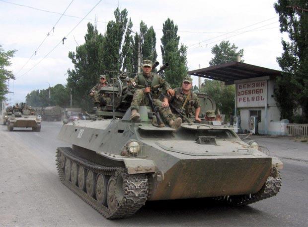 Georgia ataca Osetia del Sur -
