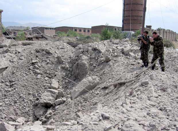 Georgia ataca Osetia del Sur - Aviones de combate
