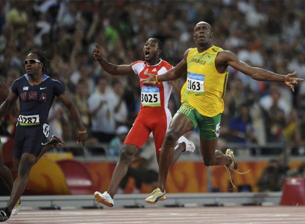 El oro de Bolt - El recital de Bolt en la carrera de los 100 metros