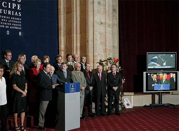 Nadal, premio Príncipe de Asturias de los Deportes 2008 - Nadal, Príncipe de Asturias