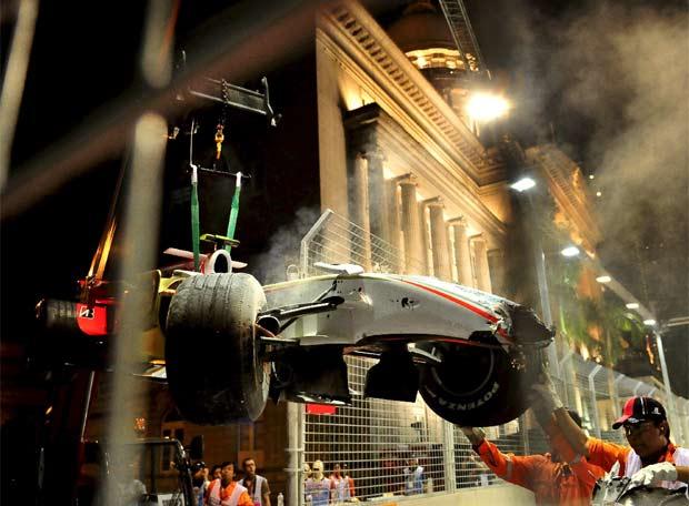 Gran Premio de SINGAPUR - Singapur - 20080927elpepudep_16