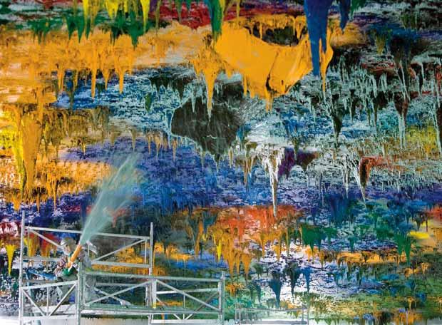 La »Capilla Sixtina» de Barceló - Miles de kilos de pintura