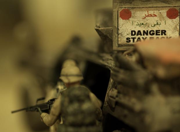 Juguetes para retratar la realidad - Una mirada a Irak