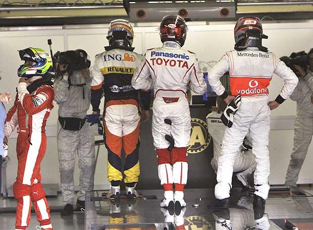 Gran Premio de Brasil 2008 - Primer aviso