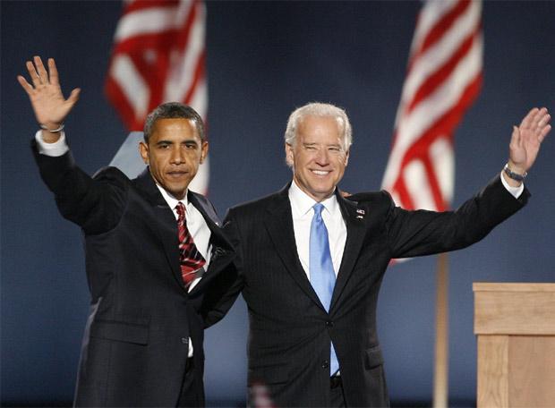La fiesta demócrata - Presidente y vicepresidente