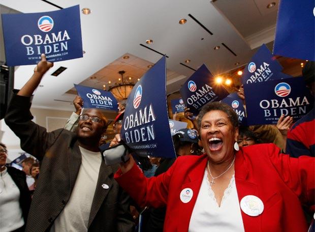 La fiesta demócrata - Comienza la euforia