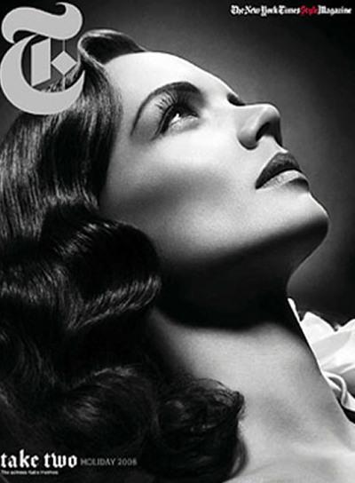 Katie Holmes en la portada de 'The New York Times Magazine' del domingo 7 de diciembre