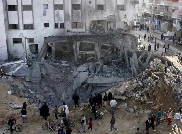 Mezquita bombardeada