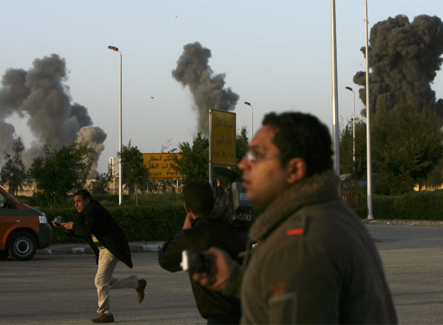 Columnas de humo