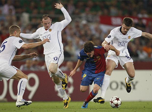 La final, en imágenes - Guardiola, manteado