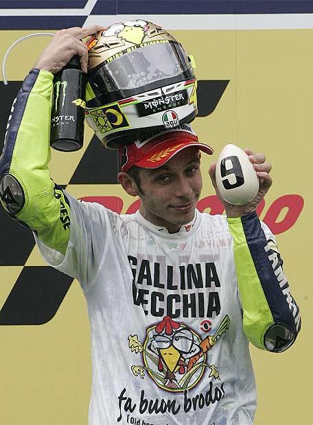 Valentino Rossi. El mejor piloto de todos los tiempos.