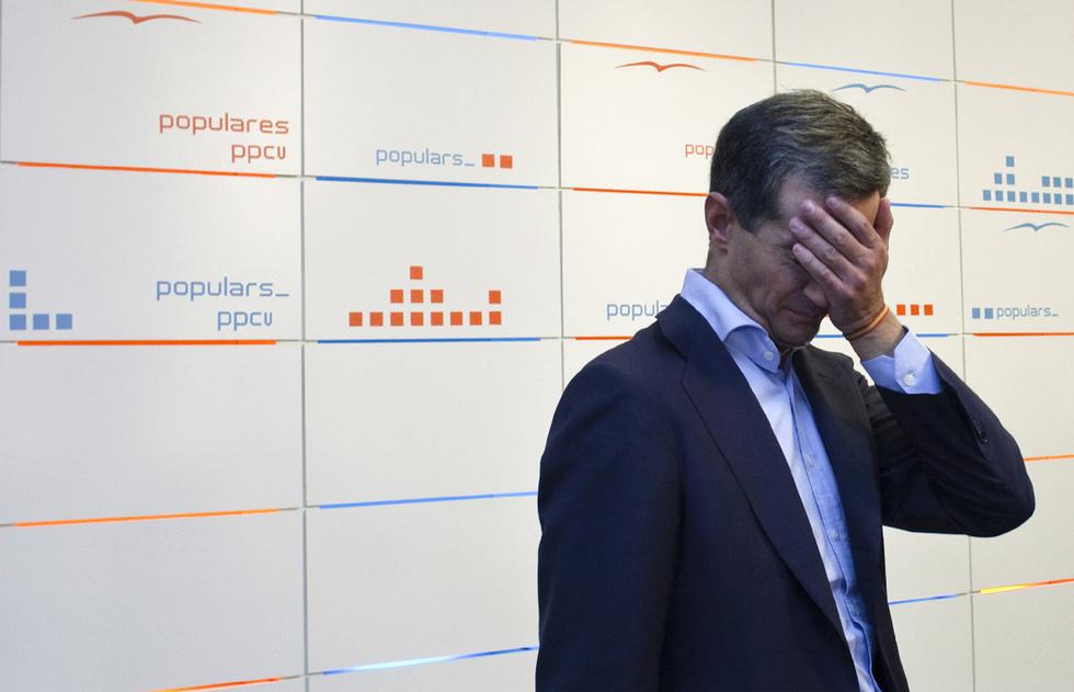Las fotos censuradas en Valencia  - La tristeza de Ricardo Costa