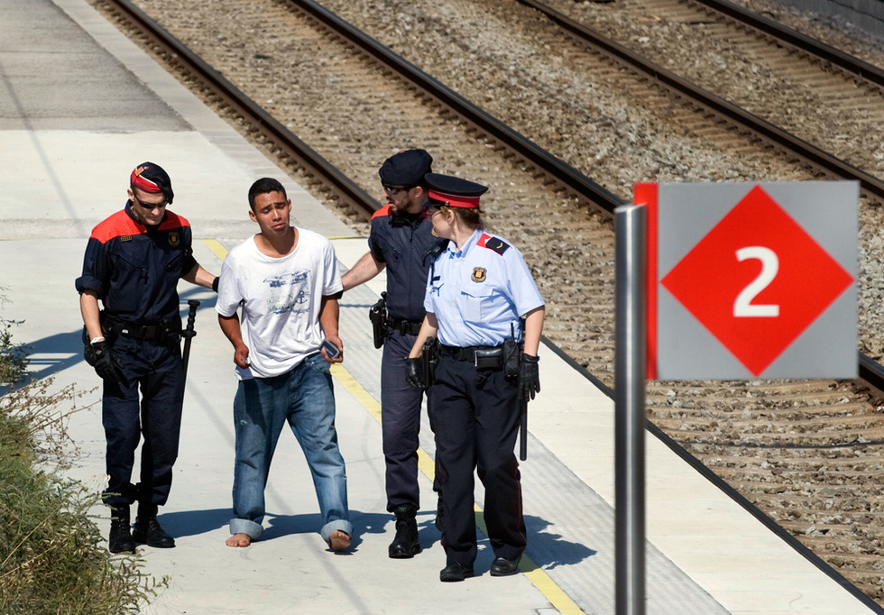 Tragedia ferroviaria en Castelldefels  - Triste tragedia