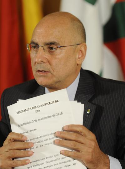 La declaración del Gobierno vasco