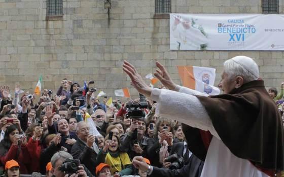 El Papa en Santiago de Compostela