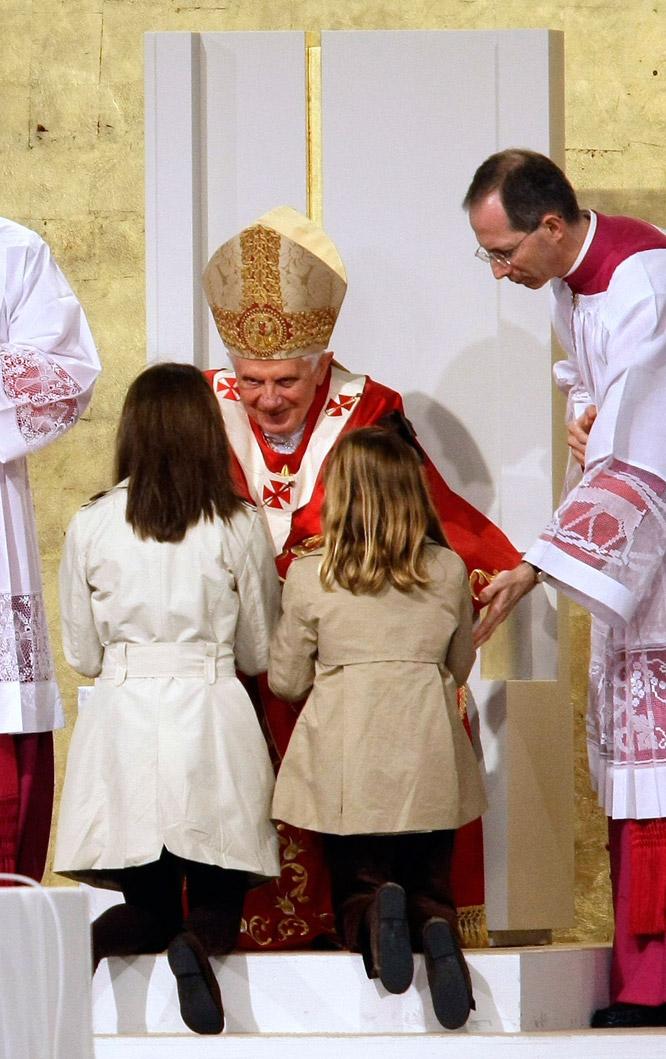 el papa en santiago