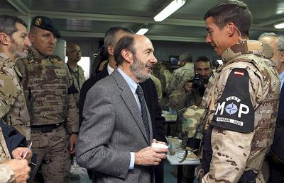 Rubalcaba en Afganistán