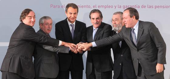Zapatero pacto mensaje confianza Espana UE Zapatero: El pacto es un mensaje de confianza a España y la UE