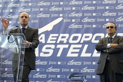 Inauguración del aeropuerto de Castellón sin aviones