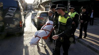 Asesinato machista en Madrid
