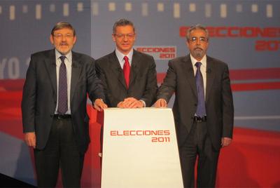 Gallardón, Lissavetzky y Pérez