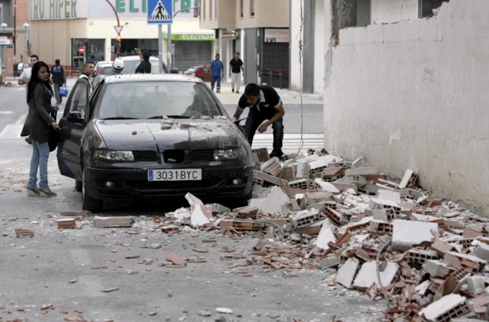 Terremoto en Lorca - Grandes daños