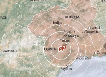 Gran dolor en Lorca