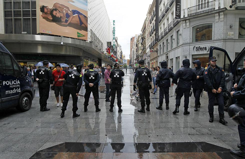Gran despliegue policial