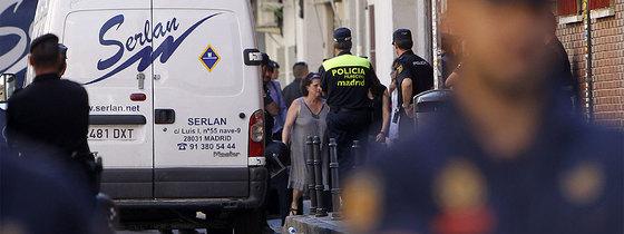 Desahucio bajo vigilancia polical