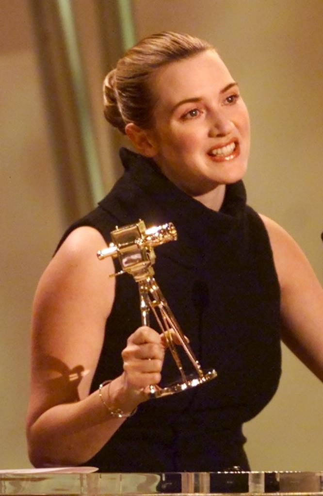 La transformación de Kate Winslet Premios