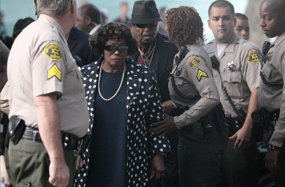 Arranca el juicio por la muerte de Michael Jackson  - Los padres de Michael