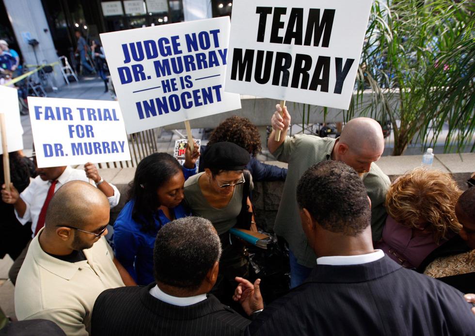 Arranca el juicio por la muerte de Michael Jackson  - Defensores de Conrad Murray