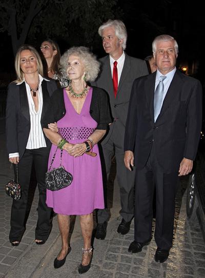 La duquesa y tres de sus hijos