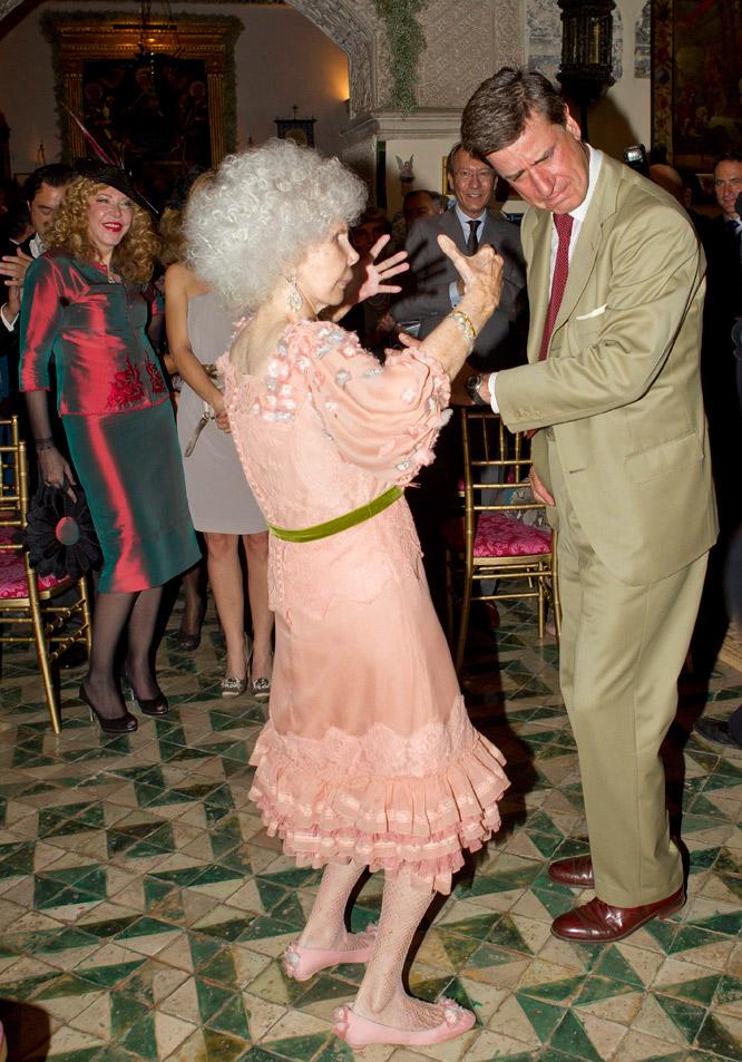 Baile con Cayetano