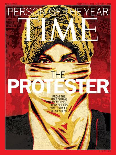 Portada de la revista TIME (2011)