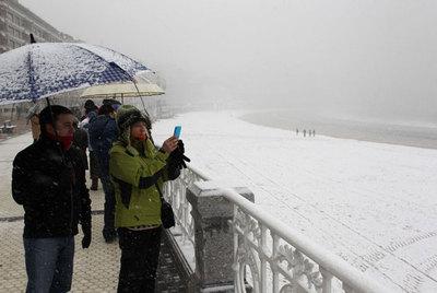 Temporal de frío y nieve en España