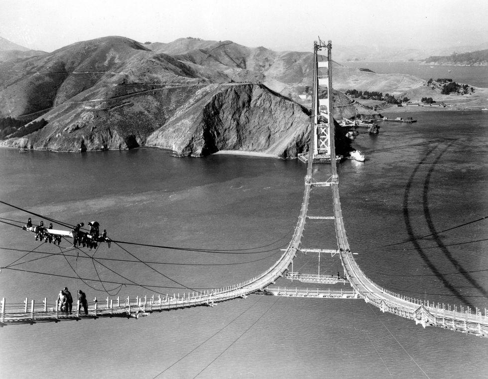 Cableado del Golden Gate