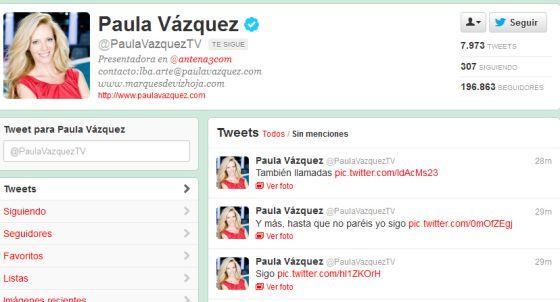 Paula v zquez publica por error su tel fono y direcci n en for Buscar direccion de un telefono