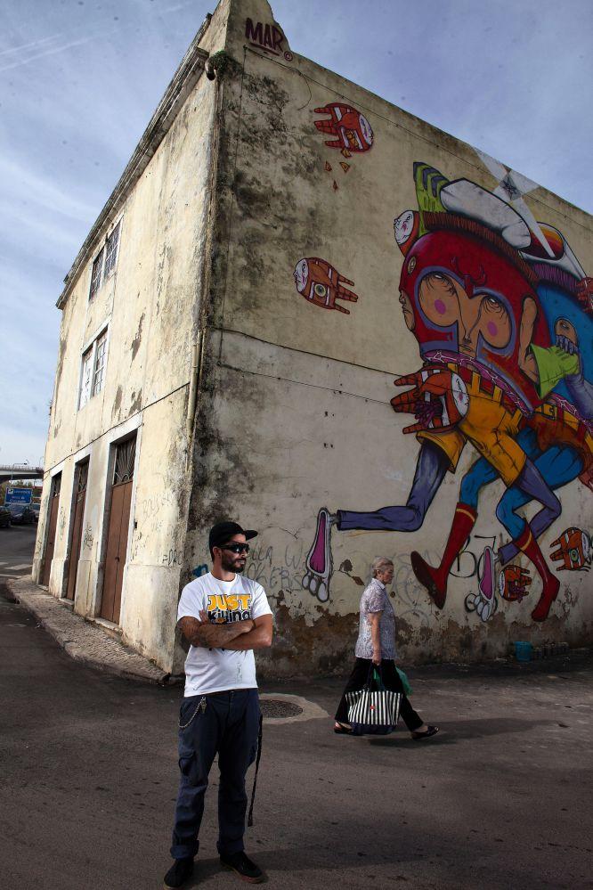 Fotorrelato Lisboa El grafiti legal de Lisboa  EL PAS