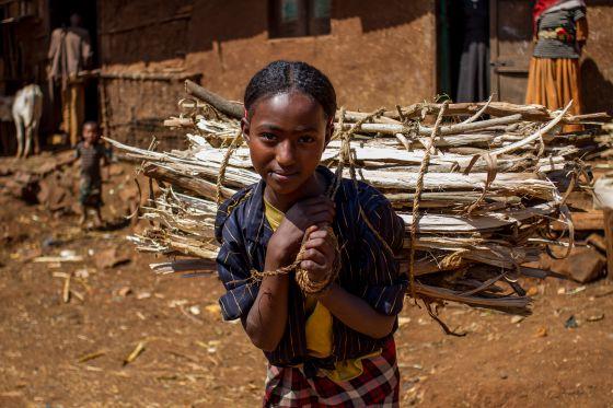 Resultado de imagen de La mujer etíope: una esperanza de futuro