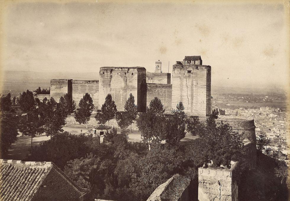 Vista de la Alcazaba, uno de los edificios del conjunto del monumento granadino.