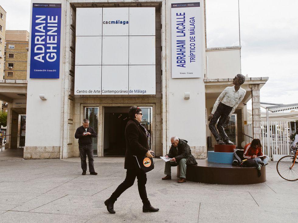 Fachada del Centro de Arte Contemporáneo de Málaga. / GIANFRANCO TRIPODO