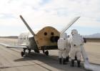 EE UU prepara otra misión de su avión espacial secreto X-37B