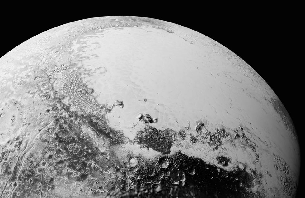 Las dunas de Plutón