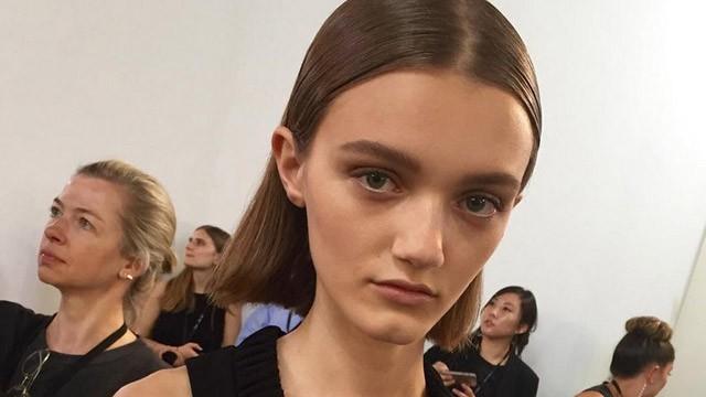 Victoria modelo adolescente ruso